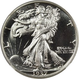 Image of 1937 50c NGC/CAC Proof 67+