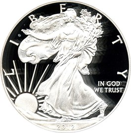 Image of 2012-S Silver Eagle $1 PCGS Proof 69 DCAM (75th Anniversary SF Mint Set)