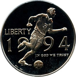 Image of 1994-P World Cup 50c PCGS Proof 69 DCAM