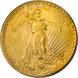 Image of 1924 $20 PCGS MS64 - No Reserve!