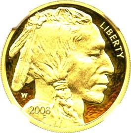 Image of 2008-W American Buffalo $10 NGC Proof 70 UCAM