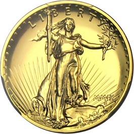 Image of 2009 Ultra High Relief $20 PCGS MS70 PL (Augustus Saint-Gaudens Signature)