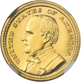 Image of 1903 McKinley G$1 NGC MS64