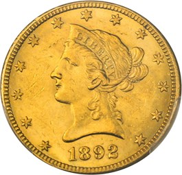 Image of 1892-O $10 PCGS MS61