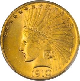 Image of 1910-S $10 PCGS MS62