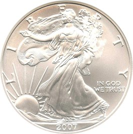 Image of 2007-W Silver Eagle $1 NGC MS70 (Early Releases)