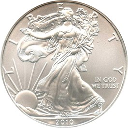 Image of 2010 Silver Eagle $1 NGC MS69 (Early Releases)
