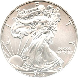 Image of 2010 Silver Eagle $1 NGC MS70 (Early Releases)