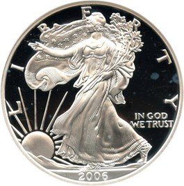 Image of 2006-W Silver Eagle $1 NGC Proof 70 UCAM