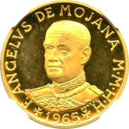 Image of Order of Malta: 1965 Gold 10 Scudi NGC PR66 UCAM (X-16) .2315oz Gold
