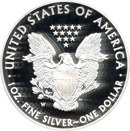 Image of 2013-W Silver Eagle $1 PCGS Proof 70 DCAM (Mercanti Signature)