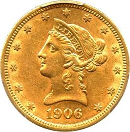 Image of 1906-D $10 PCGS AU55 - No Reserve!