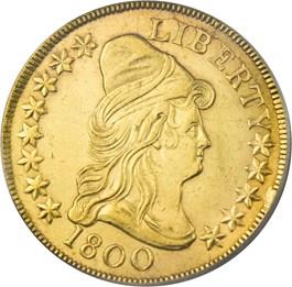 Image of 1800 $10 PCGS AU58
