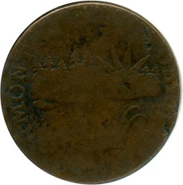 Image of 1785 Vermont NGC Good-4 BN (VERMONTS)