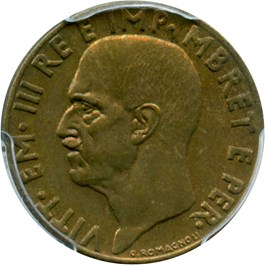 Image of Albania: 1941-R .10 Lek PCGS Secure MS64 (KM-28)