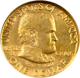 Image of 1922 Grant without Star G$1 NGC MS62
