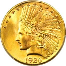 Image of 1926 $10 PCGS MS66