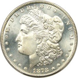Image of 1878-S $1 PCGS MS67