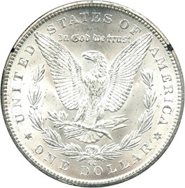 Image of 1884-CC $1 NGC/GSA MS63