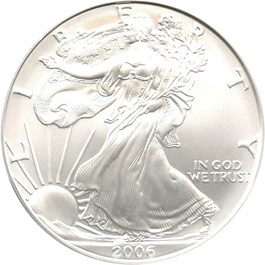 Image of 2006-W Silver Eagle $1 PCGS MS69 (Burnished)