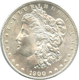 Image of 1900-O $1 PCGS MS65 - No Reserve!