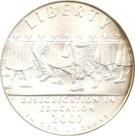 Image of 2007-P Desegregation-Little Rock $1 PCGS MS69