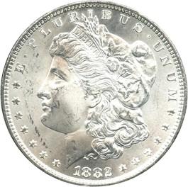 Image of 1882-CC $1 NGC/GSA  MS64