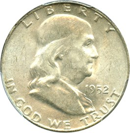 Image of 1952-D 50c PCGS MS64