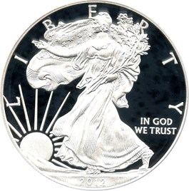 Image of 2012-W Silver Eagle $1 PCGS Proof 70 DCAM