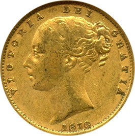 Image of Australia: 1878-S Gold Sovereign NGC XF40 (Shield Rev, KM-6) .2355oz Gold