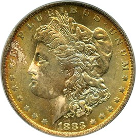 Image of 1883-O $1 PCGS/CAC MS65 (OGH)