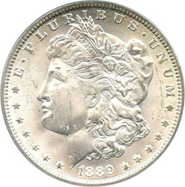 Image of 1889-O $1 PCGS/CAC MS64