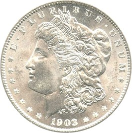 Image of 1903-O $1 NGC/CAC MS65
