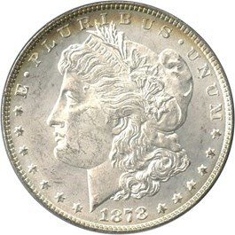 Image of 1878 8TF $1 PCGS/CAC MS63