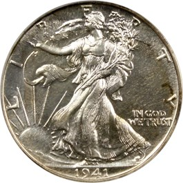 Image of 1941 50c PCGS/CAC Proof 66