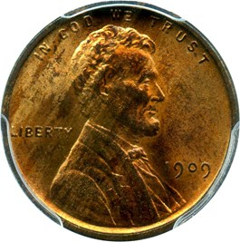 Image of 1909 VDB 1c PCGS MS64 RB