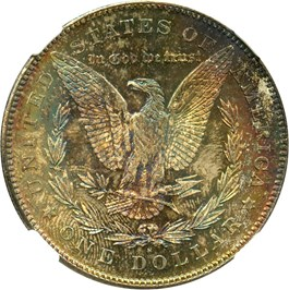 Image of 1878-S $1 NGC/CAC MS64 (NGC/CAC Star)