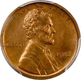 Image of 1913 1c PCGS Proof 64 RB