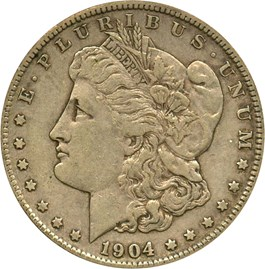 Image of 1904-S $1 PCGS/CAC XF40