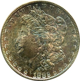 Image of 1882-S $1 NGC/CAC MS66