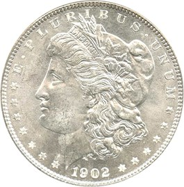 Image of 1902-O $1 NGC/CAC MS66