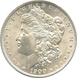Image of 1900-O $1 PCGS MS64