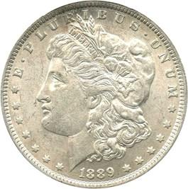 Image of 1889-O $1 PCGS AU55