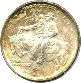 Image of 1925 Stone Mountain 50c PCGS MS64