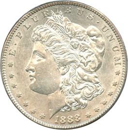 Image of 1888-S $1 PCGS AU55