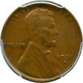 Image of 1931-S 1c PCGS XF45