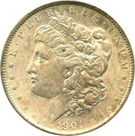 Image of 1901 $1 PCGS AU53