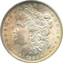 Image of 1883 $1 PCGS MS65