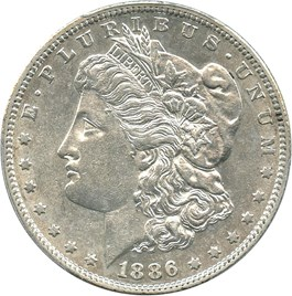 Image of 1886-S $1 PCGS AU50