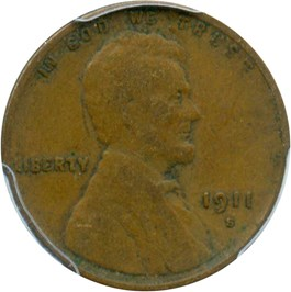 Image of 1911-S 1c PCGS VF20